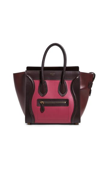 What Goes Around Comes Around Celine Micro Luggage Bag