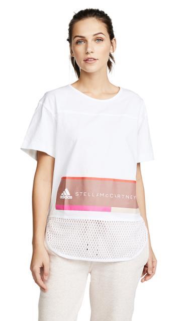 Adidas By Stella Mccartney Essentials Logo Tee