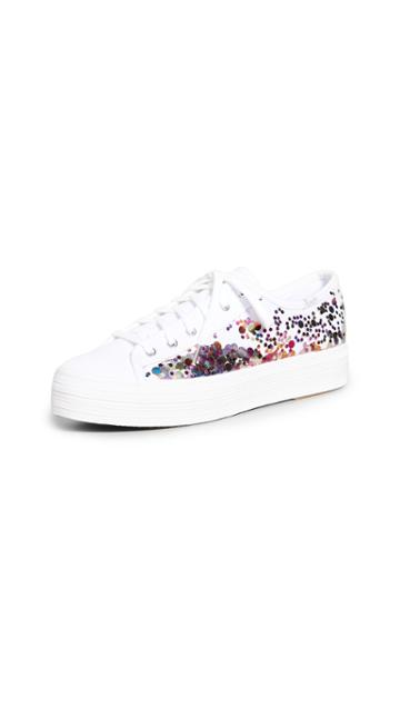 Keds X Kate Spade New York Triple Kick Confetti Sneakers