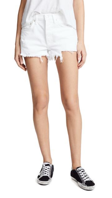 Agolde Parker Loose Fit Cutoff Shorts