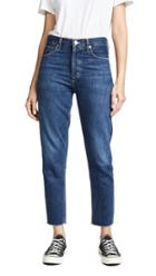Agolde Jamie High Rise Classic Ankle Jeans
