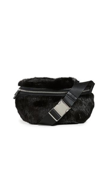 Avec La Troupe Mink Major Belt Bag