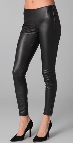 Blank Denim Vegan Leather Leggings