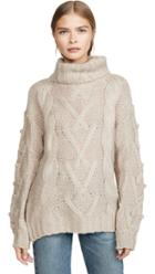 Dna Cable Turtleneck Sweater