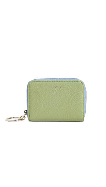 Oad Colorblock Mini Card Wallet