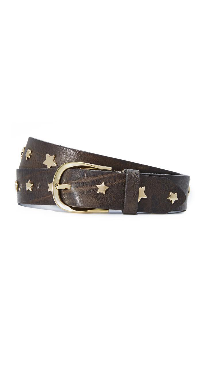 B Belt Star Studded Belt