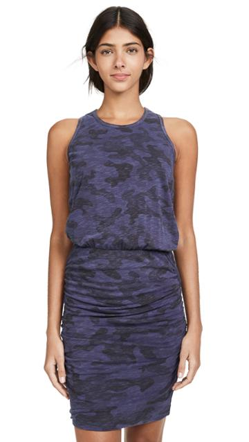 Sundry Camo Sleeveless Dress