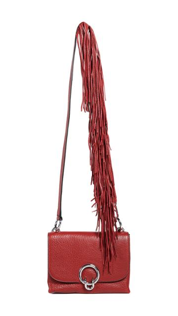 Rebecca Minkoff Isabel Small Crossbody Bag With Fringe