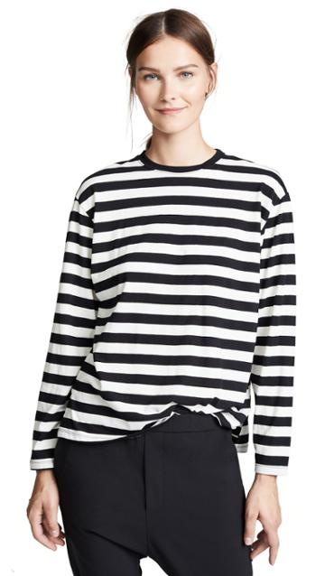 Z Supply Striped Fielder Tee