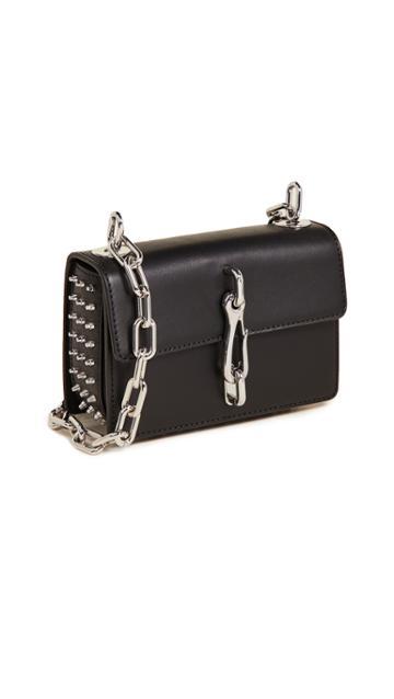 Alexander Wang Hook Small Crossbody Bag With Box Chain