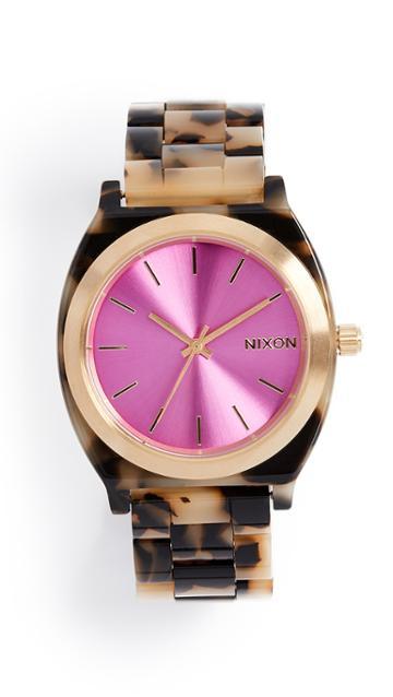 Nixon Time Teller Tort Watch 38mm