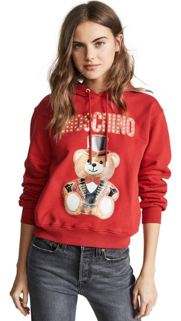 Moschino Tophat Bear Hoodie