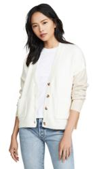 Madewell Colorblock Catalpa Cardigan