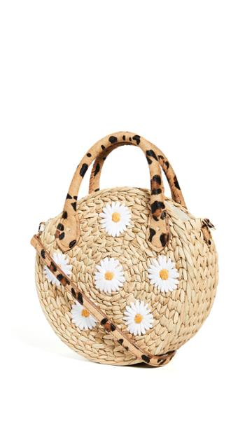 Poolside Bags The Maxine Bag Natural Daisy