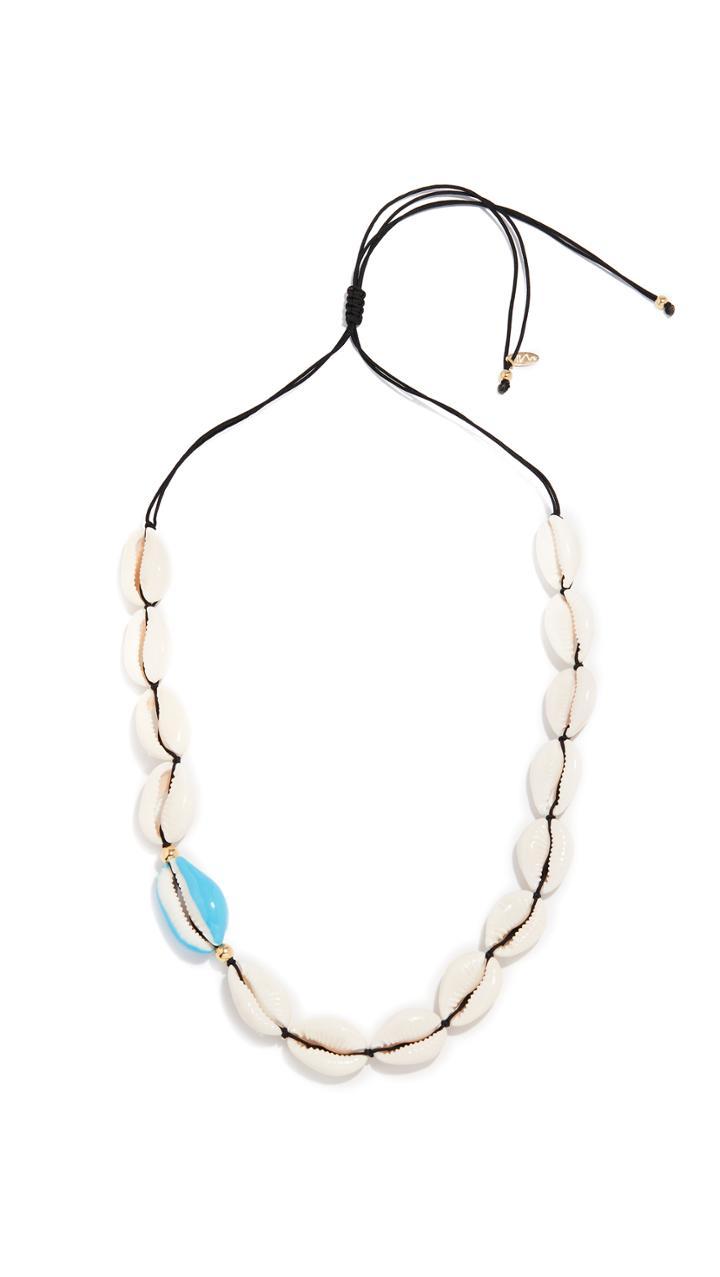 Maison Irem Ocracoke Full Shell Necklace