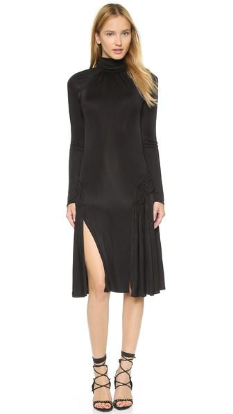 Issa Barnaby High Neck Dress - Black