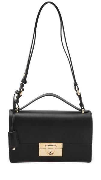 Salvatore Ferragamo Aileen Shoulder Bag - Black