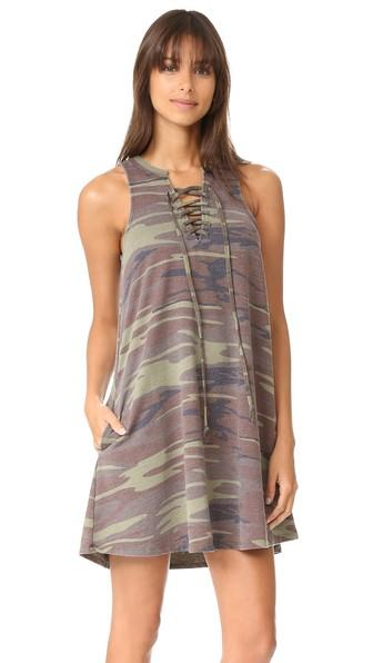Z Supply Camo All Tied Up Dress
