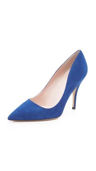 Kate Spade New York Licorice Pumps - Cobalt
