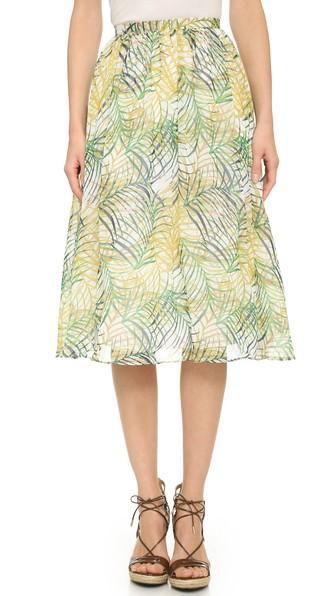 Bb Dakota Aldis Cool Grass Skirt - Multi