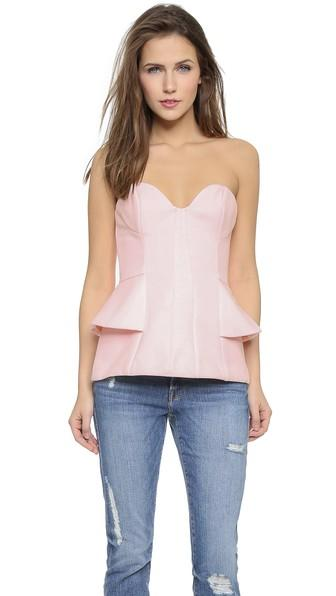 Finderskeepers Take A Shot Bustier - Powder Pink
