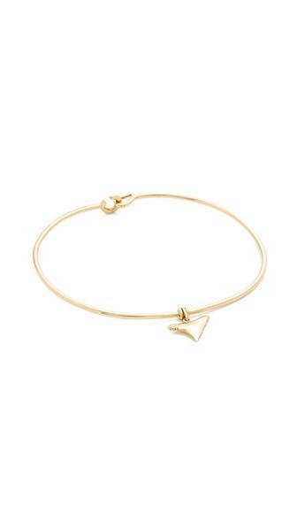 Aurelie Bidermann Fine Jewelry Shark Tooth Bracelet
