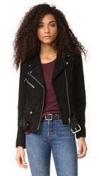 Veda Jayne Classic Suede Jacket