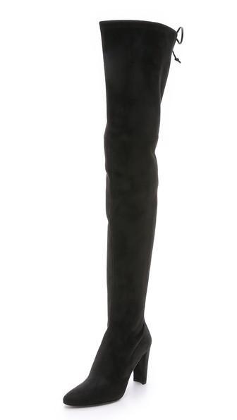Stuart Weitzman Alllegs Thigh High Boots - Noir