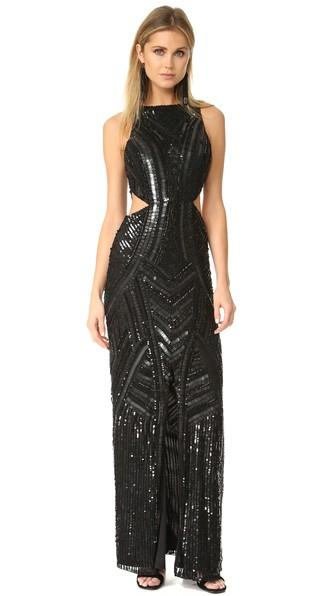 Parker Parker Black Paulina Dress