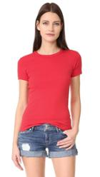 Three Dots Short Sleeve Crew Neck Tee