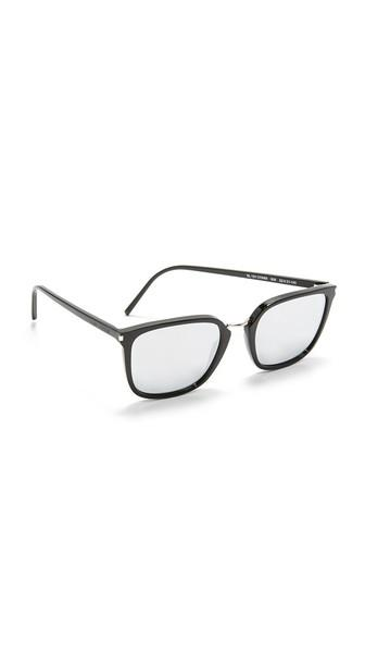Saint Laurent Sl 131 Combi Mirrored Sunglasses