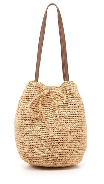 Hat Attack Slouchy Tote - Natural