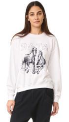 Baja East Printed Sweatshirt