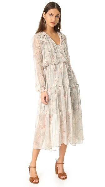 Zimmermann Stranded Garland Dress