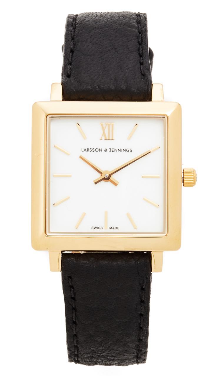 Larsson & Jennings Norse Watch - Gold/white/black