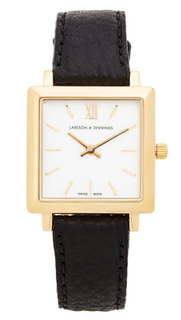 Larsson & Jennings Norse Watch - Gold/white/black
