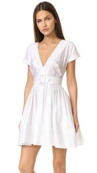 Nicholas N Nicholas Wrap Front Mini Dress