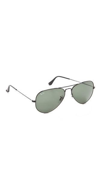 Ray-ban Aviator Sunglasses - Black