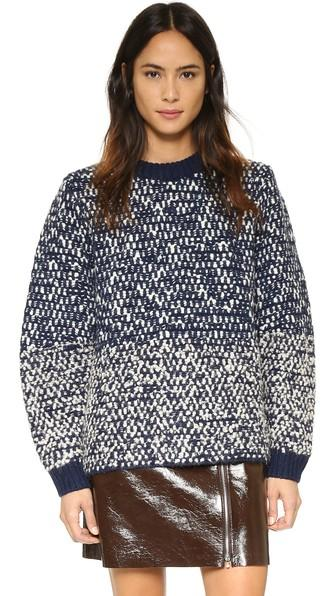 See By Chloe Chunky Pullover - Navy