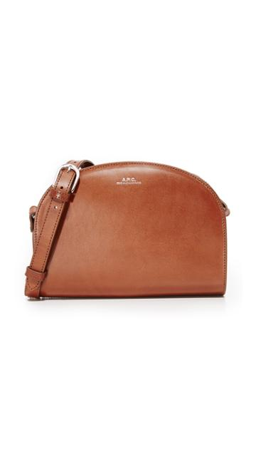A.p.c. Half Moon Bag - Noisette