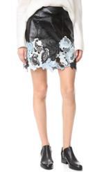 3 1 Phillip Lim Vinyl Lace Skirt