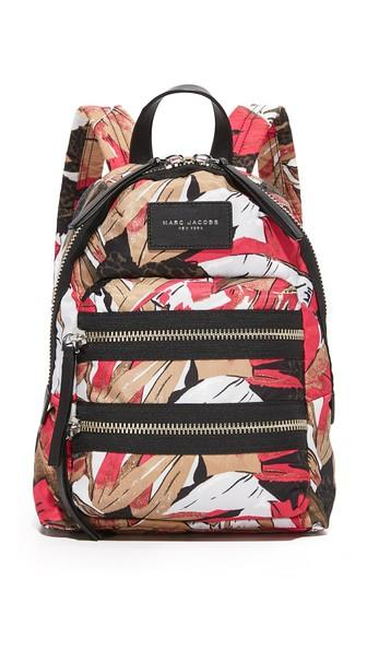 Marc Jacobs Palm Print Biker Mini Backpack