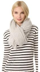 White Warren Cashmere Travel Wrap Scarf