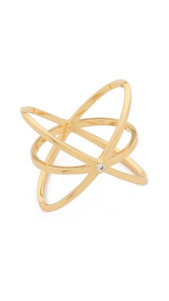 Gorjana Lonny Crisscross Ring - Gold