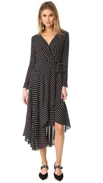 Zimmermann Stranded Wrap Dress