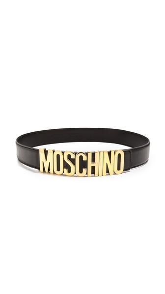 Moschino Moschino Belt - Black