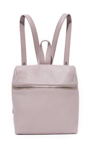 Kara Small Backpack - Mauve