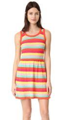 Boutique Moschino Striped Sleeveless Dress