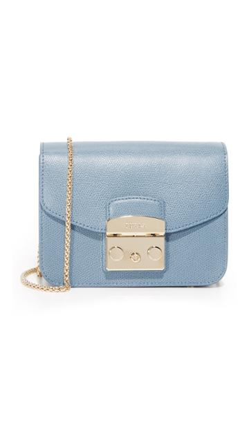 Furla Metropolis Mini Crossbody Bag - Dolomia