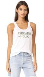 Chrldr Avocadoholic Tank